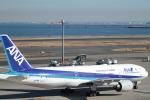 ヒロっちィさんが、羽田空港で撮影した全日空 777-281/ERの航空フォト(写真)