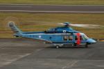 HAC_RENさんが、八丈島空港で撮影した警視庁 AW139の航空フォト(写真)
