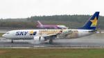 うみBOSEさんが、新千歳空港で撮影したスカイマーク 737-86Nの航空フォト(写真)