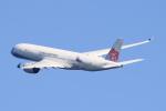 キイロイトリ1005fさんが、関西国際空港で撮影したチャイナエアライン A350-941XWBの航空フォト(写真)