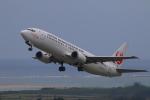 かみじょー。さんが、新石垣空港で撮影した日本トランスオーシャン航空 737-446の航空フォト(写真)