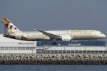 Wings Flapさんが、中部国際空港で撮影したエティハド航空 787-9の航空フォト(写真)