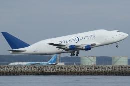 Wings Flapさんが、中部国際空港で撮影したボーイング 747-409(LCF) Dreamlifterの航空フォト(写真)