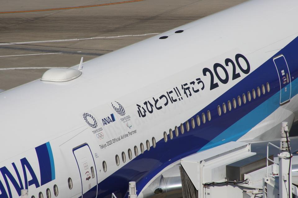 SKYLINEさんの全日空 Boeing 777-200 (JA744A) 航空フォト