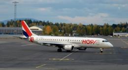 kamerajiijiさんが、オスロ国際空港で撮影したエールフランス・オップ! ERJ-190-100 LR (ERJ-190LR)の航空フォト(飛行機 写真・画像)