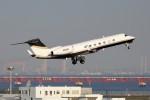 CROWNさんが、羽田空港で撮影した3M G-V-SP Gulfstream G550の航空フォト(写真)