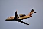 we love kixさんが、関西国際空港で撮影した中一航空 CL-600-2B16 Challenger 604の航空フォト(写真)