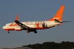 masa707さんが、福岡空港で撮影したチェジュ航空 737-8ASの航空フォト(写真)