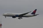amagoさんが、成田国際空港で撮影したデルタ航空 777-232/ERの航空フォト(写真)
