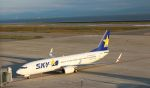 Rsaさんが、神戸空港で撮影したスカイマーク 737-8Q8の航空フォト(写真)