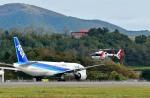 Dojalanaさんが、函館空港で撮影した中日本航空 EC135P1の航空フォト(飛行機 写真・画像)