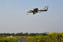Gambardierさんが、岡南飛行場で撮影した岡山航空 58 Baronの航空フォト(写真)