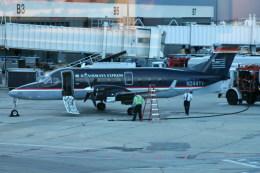トシさんさんが、ソルトレークシティ国際空港で撮影したUSエアウェイズ・エクスプレスの航空フォト(飛行機 写真・画像)