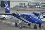 IL-18さんが、グラスゴー国際空港で撮影したローガンエアー DHC-6-400 Twin Otterの航空フォト(写真)