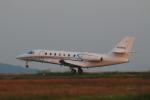 Lucky Manさんが、岡山空港で撮影したノエビア 680 Citation Sovereignの航空フォト(写真)