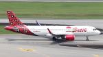誘喜さんが、シンガポール・チャンギ国際空港で撮影したバティク・エア A320-214の航空フォト(写真)