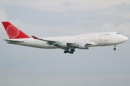たみぃさんが、香港国際空港で撮影したエア・カーゴ・グローバル 747-433M(BDSF)の航空フォト(飛行機 写真・画像)