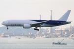 たみぃさんが、香港国際空港で撮影したサザン・エア 777-F16の航空フォト(写真)