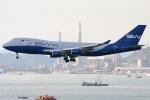 たみぃさんが、香港国際空港で撮影したSWイタリア 747-4R7F/SCDの航空フォト(写真)