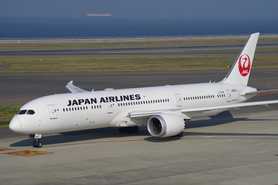 yabyanさんの日本航空 Boeing 787-9 (JA861J) 航空フォト