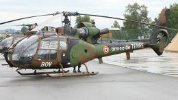 cathay451さんが、ポー・ピレネー空港で撮影したフランス陸軍 SA341F Gazelleの航空フォト(飛行機 写真・画像)