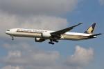 YASKYさんが、成田国際空港で撮影したシンガポール航空 777-312/ERの航空フォト(写真)