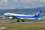 hideohさんが、伊丹空港で撮影した全日空 777-281の航空フォト(写真)