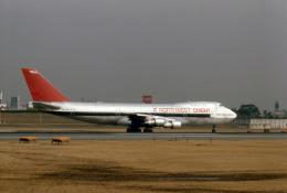 Gambardierさんが、伊丹空港で撮影したノースウエスト・オリエント航空 747-151の航空フォト(写真)