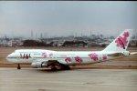 新城良彦さんが、伊丹空港で撮影した日本航空 747-346の航空フォト(写真)