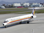 tokadaさんが、名古屋飛行場で撮影した日本エアシステム MD-81 (DC-9-81)の航空フォト(写真)