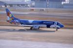 kumagorouさんが、福岡空港で撮影したエアーニッポン 737-46Mの航空フォト(飛行機 写真・画像)