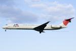 Scotchさんが、名古屋飛行場で撮影した日本航空 MD-81 (DC-9-81)の航空フォト(写真)