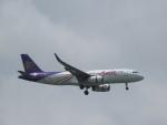 ねこすけさんが、スワンナプーム国際空港で撮影したタイ・スマイル A320-232の航空フォト(写真)