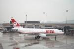 tokadaさんが、チューリッヒ空港で撮影したミドル・イースト航空 A310-203の航空フォト(写真)
