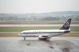 tokadaさんが、チューリッヒ空港で撮影したオリンピックエアウェイズ 737-284/Advの航空フォト(飛行機 写真・画像)