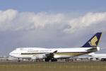senyoさんが、成田国際空港で撮影したシンガポール航空 747-412の航空フォト(写真)