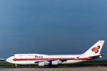菊池 正人さんが、パリ シャルル・ド・ゴール国際空港で撮影したタイ国際航空 747-4D7の航空フォト(写真)