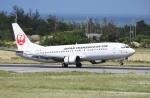 ワーゲンバスさんが、宮古空港で撮影した日本トランスオーシャン航空 737-4Q3の航空フォト(写真)