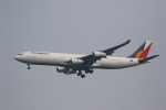 VIPERさんが、羽田空港で撮影したフィリピン航空 A340-313Xの航空フォト(写真)
