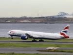 kikiさんが、羽田空港で撮影したブリティッシュ・エアウェイズ 777-336/ERの航空フォト(写真)