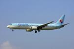 tsubameさんが、福岡空港で撮影した大韓航空 737-9B5の航空フォト(写真)