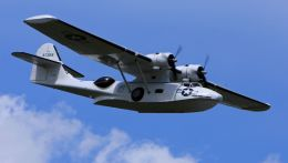 cathay451さんが、ポー・ピレネー空港で撮影したPrivate Owner PBY-5A Catalinaの航空フォト(飛行機 写真・画像)
