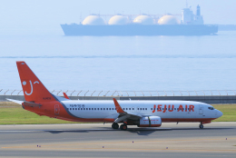 yabyanさんが、中部国際空港で撮影したチェジュ航空 737-8ALの航空フォト(飛行機 写真・画像)
