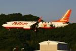 あしゅーさんが、福岡空港で撮影したチェジュ航空 737-8ASの航空フォト(写真)