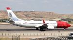 誘喜さんが、マドリード・バラハス国際空港で撮影したノルウェー・エア・インターナショナル 737-86Nの航空フォト(写真)