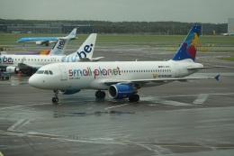 航空フォト:D-ABDB スモール・プラネット・エアラインズ・ジャーマニー A320