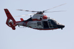 チャッピー・シミズさんが、ロングビーチ空港で撮影したアメリカ沿岸警備隊 HH-65Aの航空フォト(写真)