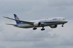 qooさんが、成田国際空港で撮影した全日空 787-9の航空フォト(写真)