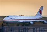 サボリーマンさんが、松山空港で撮影した航空自衛隊 747-47Cの航空フォト(飛行機 写真・画像)