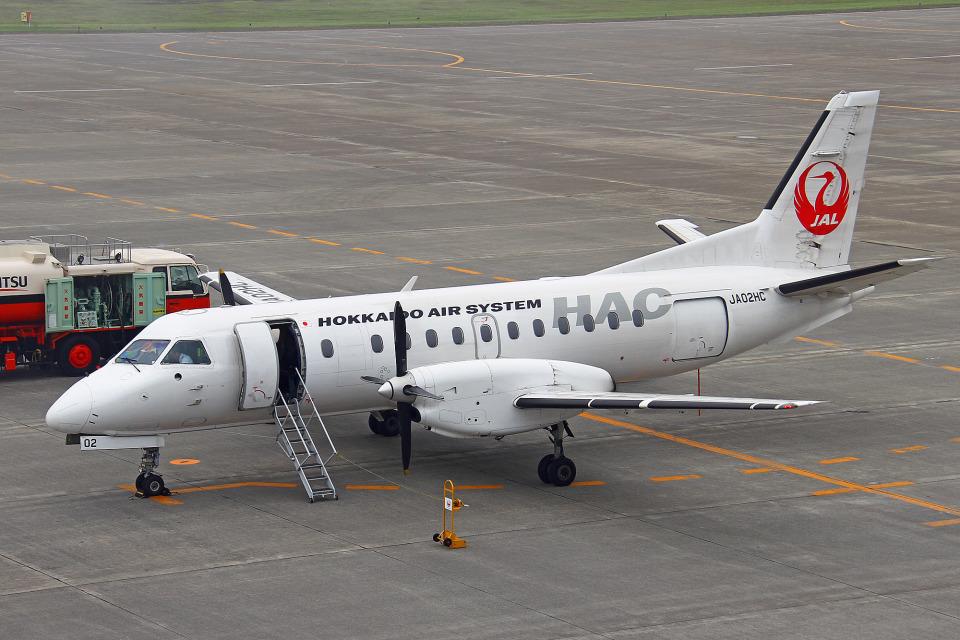 りんたろうさんの北海道エアシステム Saab 340 (JA02HC) 航空フォト